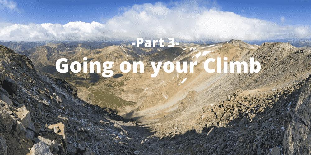 Climbing a 14er in Colorado