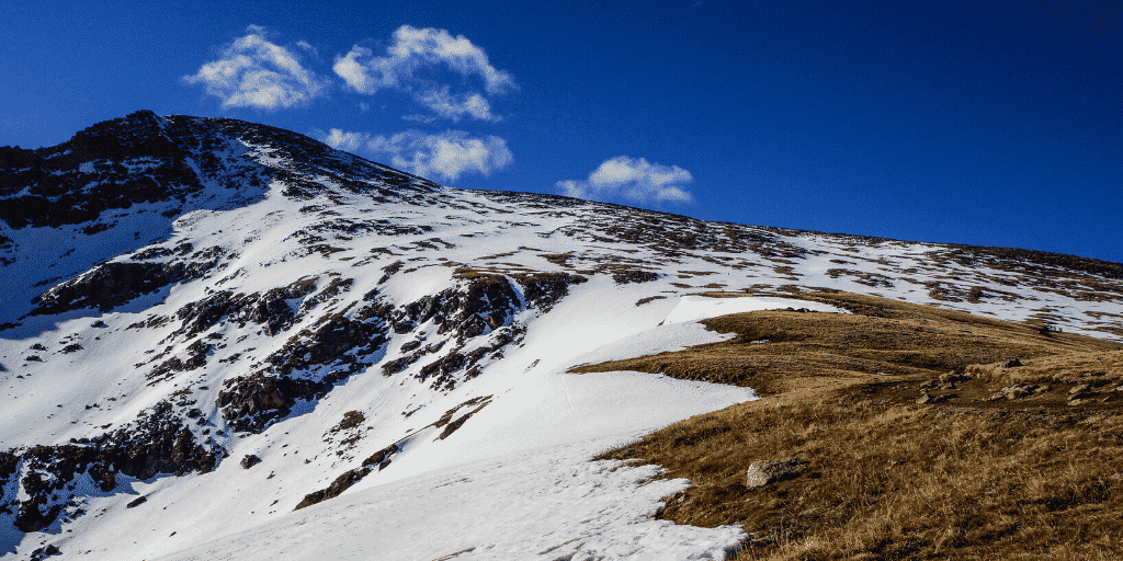 Hiking Mt Bierstadt in May