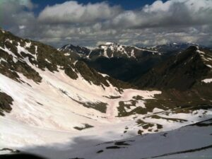 Hiking Grays Peak in May