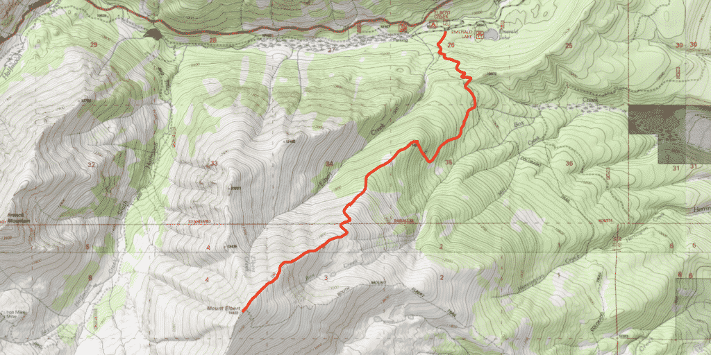 Mt Elbert Standard Route Guide