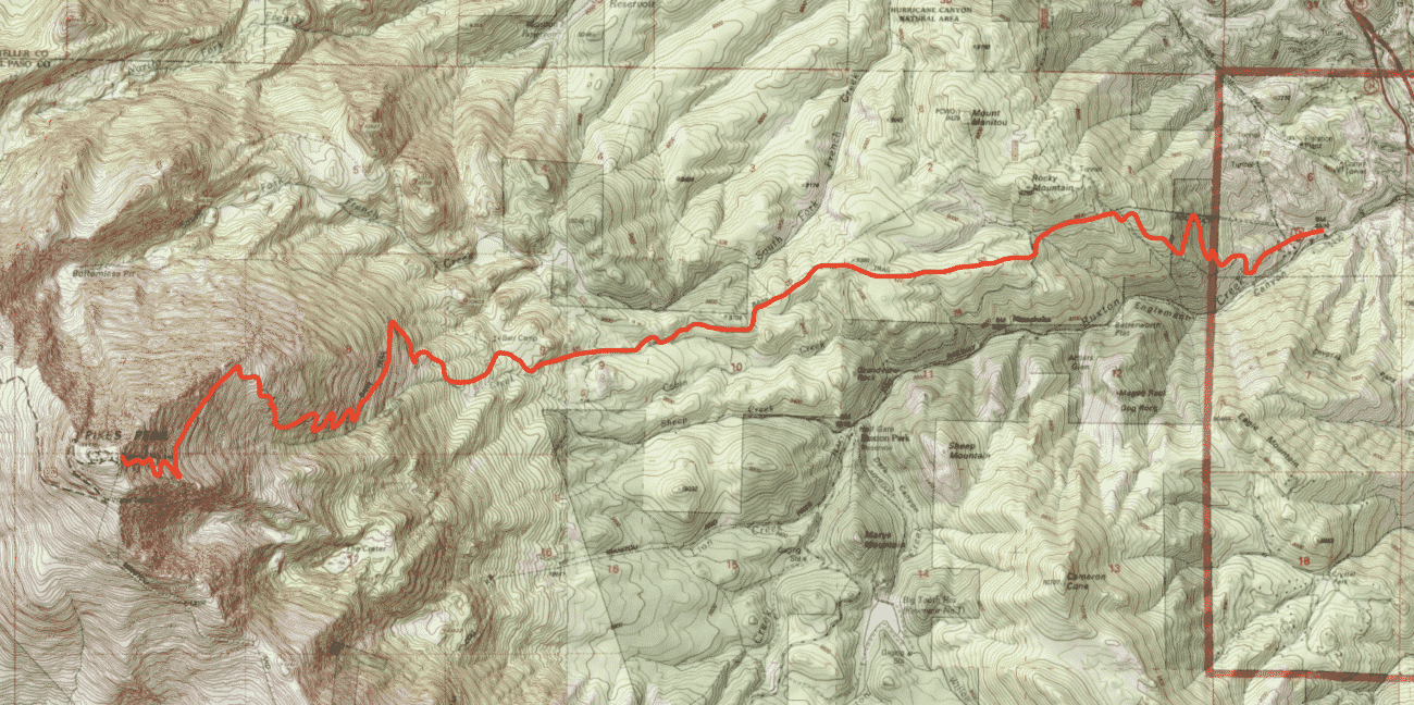 Pikes Peak Standard Route Guide