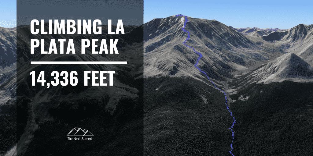 Hiking La Plata Peak