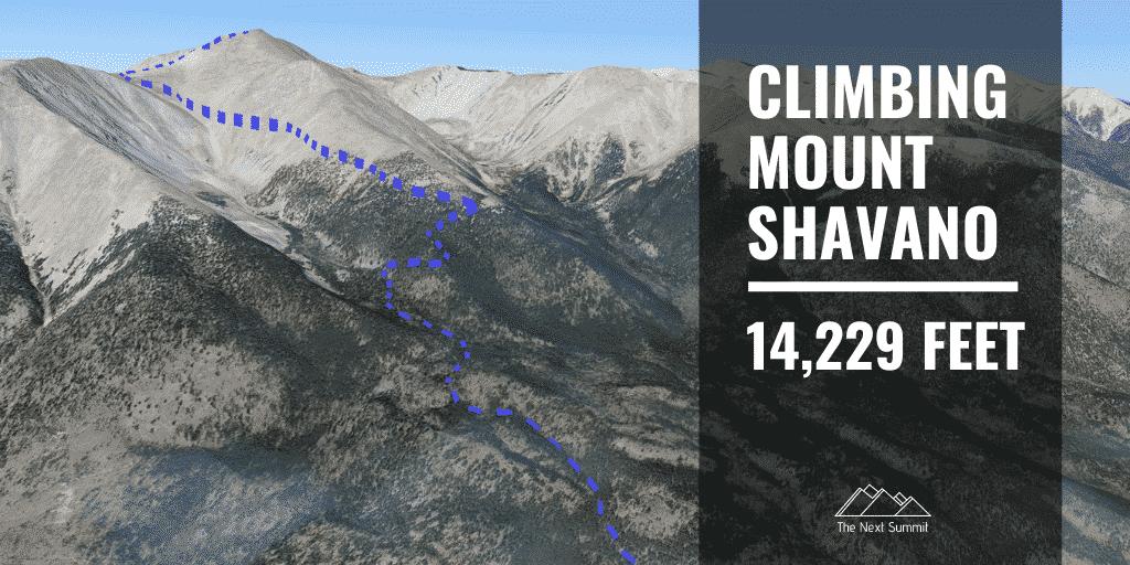 Hiking Mount Shavano
