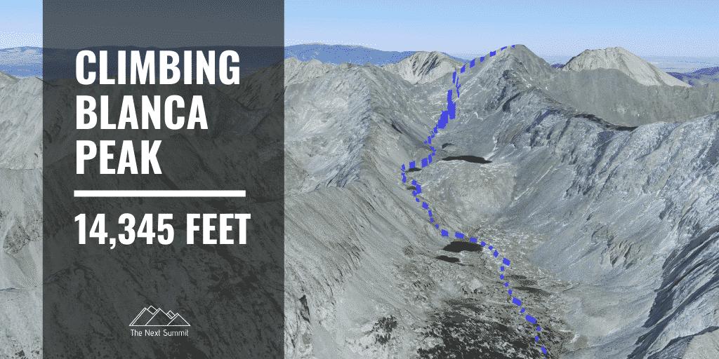 Hiking Blanca Peak