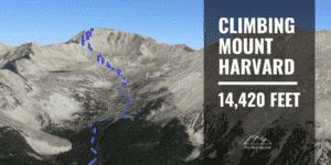Hiking Mount Harvard
