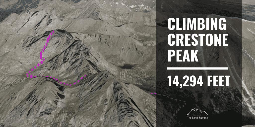 Climbing Crestone Peak Standard Route Guide