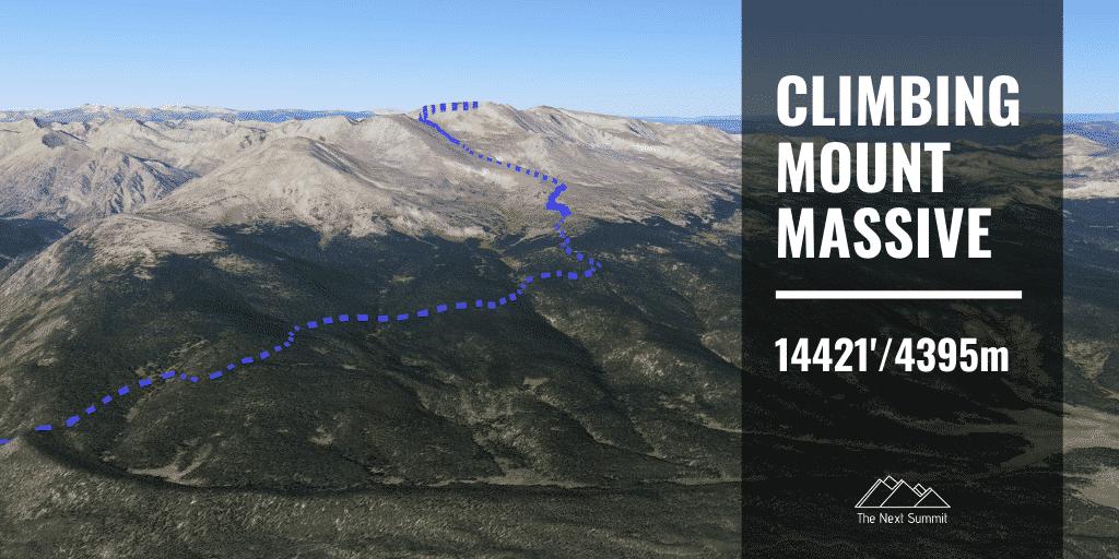 Hiking Mount Massive