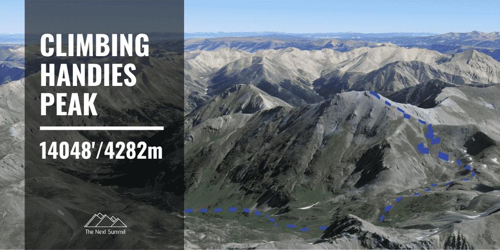 Hiking Handies Peak