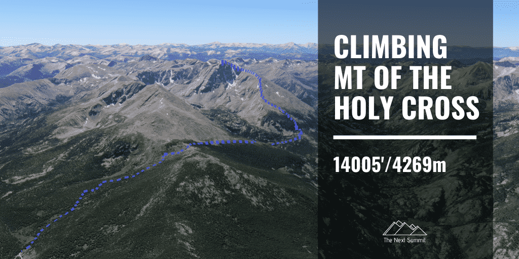 Hiking Mount of the Holy Cross
