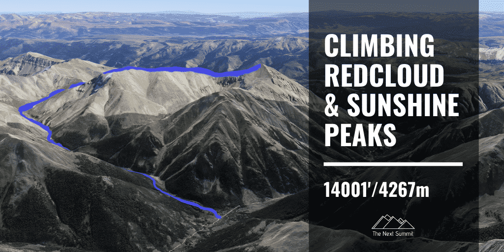 Redcloud and Sunshine Peaks Route Guide