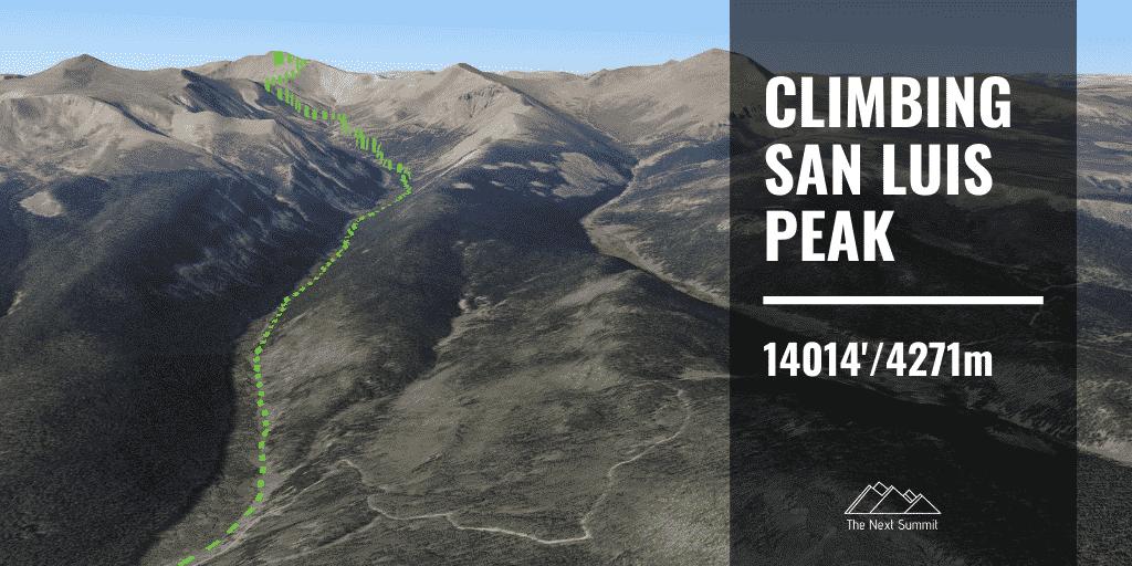 San Luis Peak Route Guide