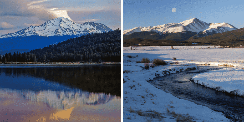 Comparing the Colorado and California 14ers