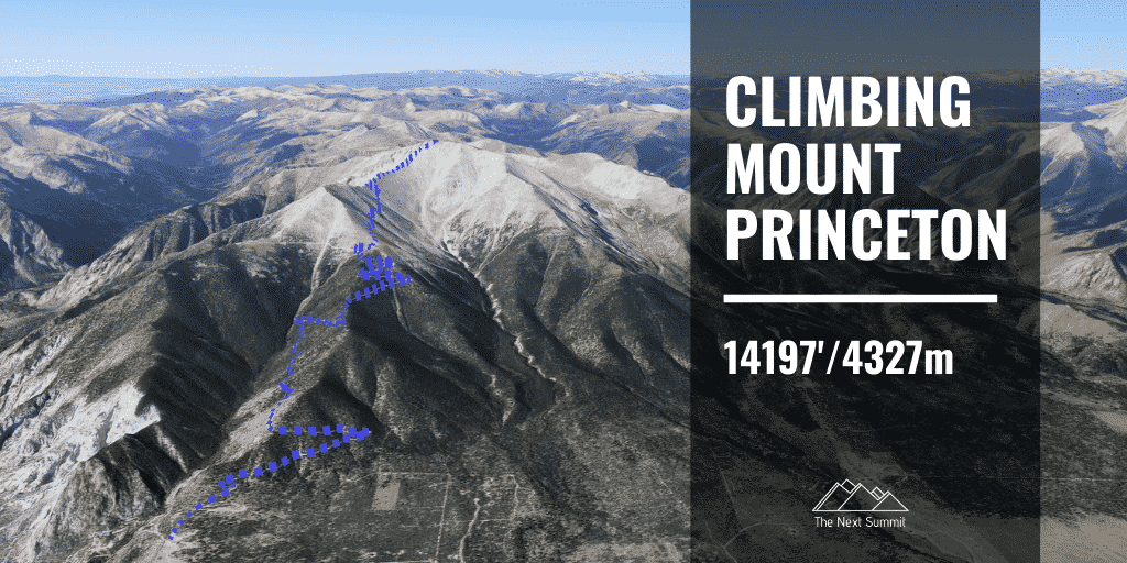 Mt Princeton Standard Route Guide