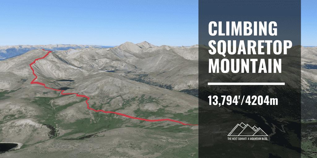 Squaretop Mountain Route Guide
