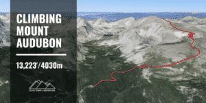 Mt Audubon Route Guide