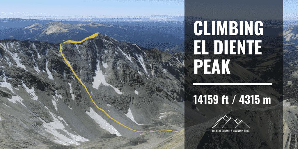El Diente Peak Route
