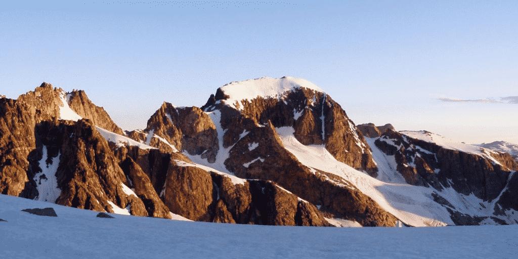 Wind River Range Mountains