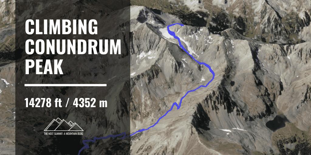 hiking Conundrum Peak