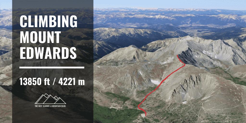 hiking Mount Edwards