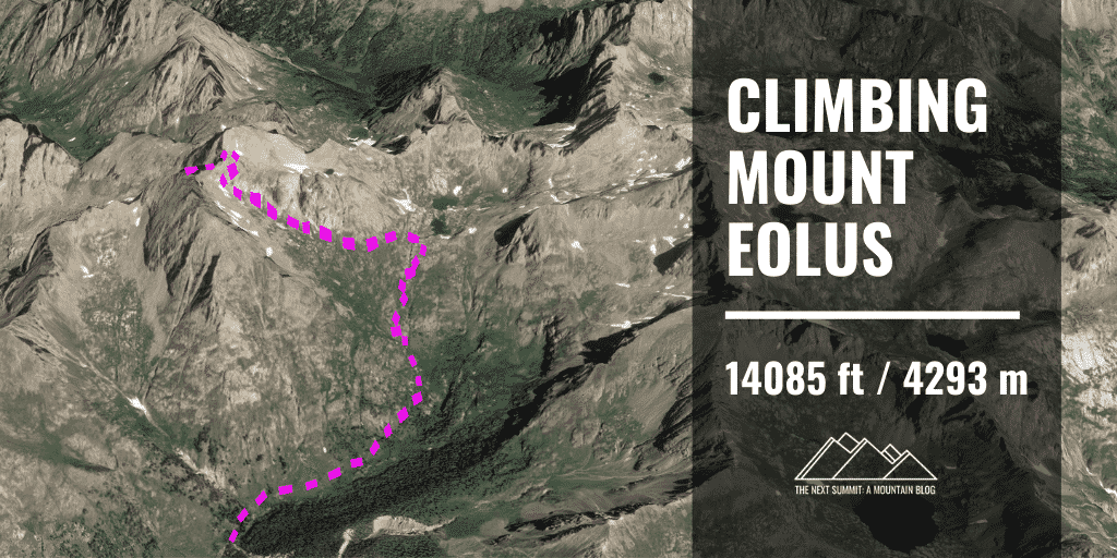 Mt Eolus route guide