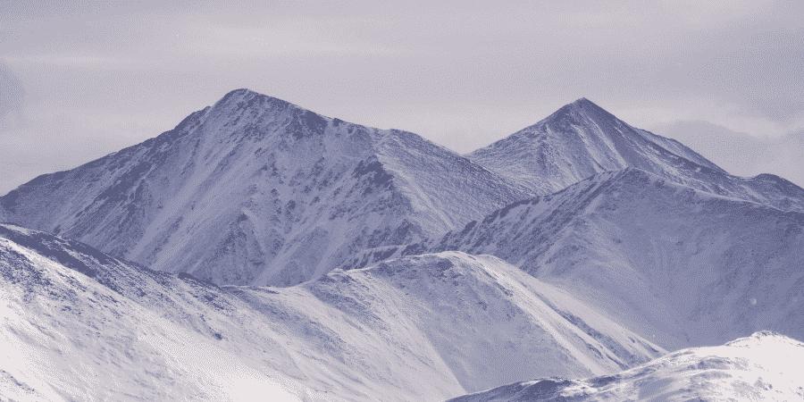 Climbing Grays Peak in Winter