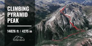 climbing Pyramid Peak route guide