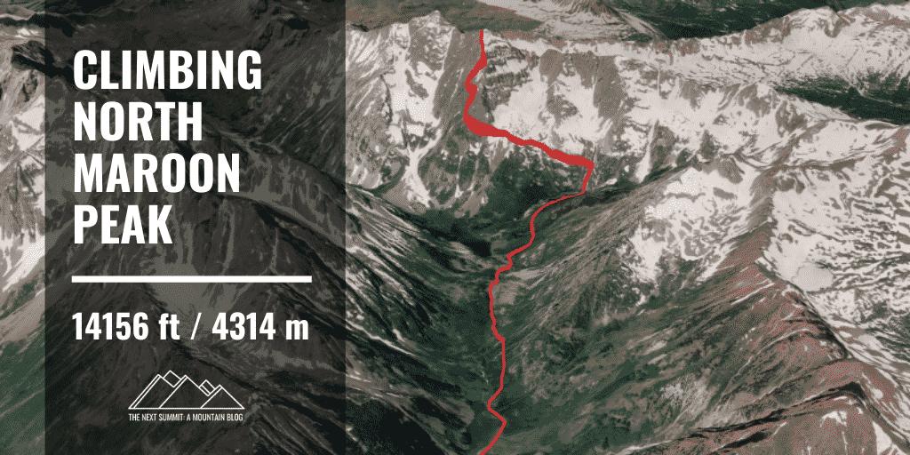 North Maroon Peak route guide