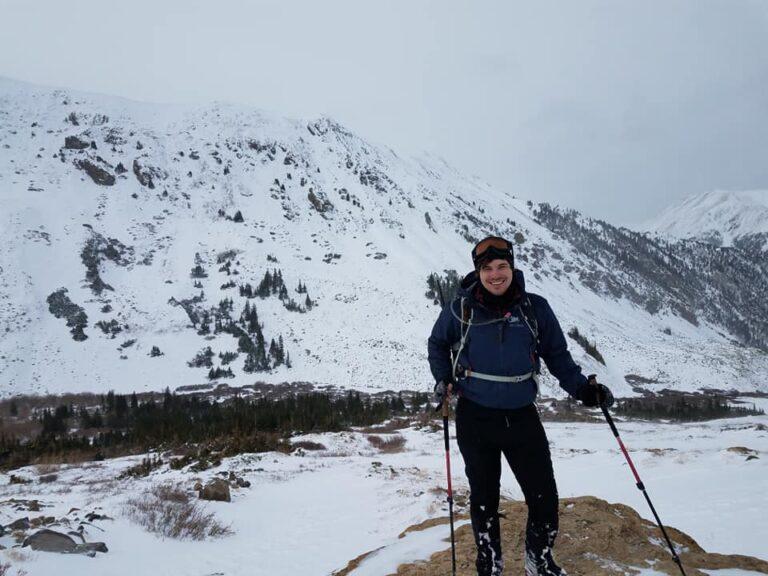 Mt Belford Winter