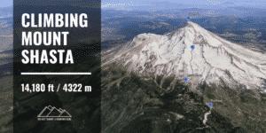 climbing Mount Shasta via Avalanche Gulch