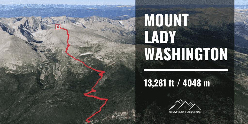 Hiking Mount Lady Washington