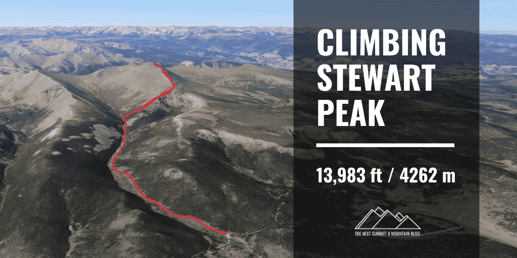 Hiking Stewart Peak
